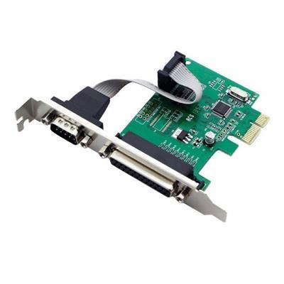 Placa PCI-e a Paralelo y Serial Netmak NM-E382