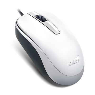 Mouse Genuis Optico DX-120 USB G5 White