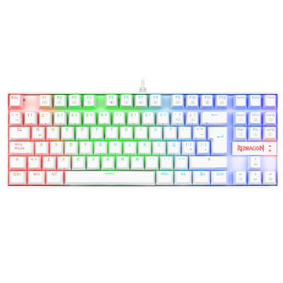Teclado Gaming Redragon K552 Kumara RGB ES Blanco