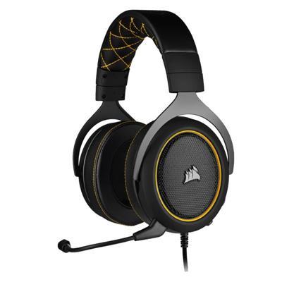 Auricular Gaming Corsair HS60 Pro Black/Yellow