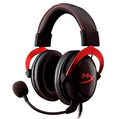 Auricular Gaming HyperX Cloud II Gaming Rojo