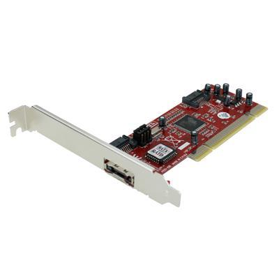 Placa PCI a SATA e IDE Netmak NM-6421