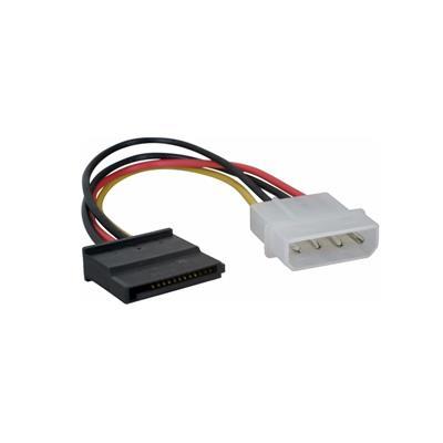 Cable adaptador power SATA a MOLEX Netmak NM-C05