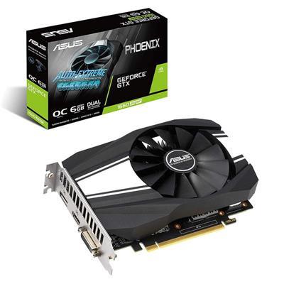 Video GeForce GTX 1660 SUPER 6Gb GDDR6 Asus Phoenix OC