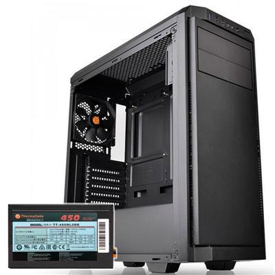Gabinete Thermaltake V100 + Fuente 450W